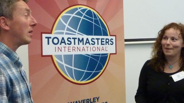 public speaking, speaking, speeches, training, Edinburgh, Toastmasters, Toastmasters International, Waverley Communicators, leadership, soft skills