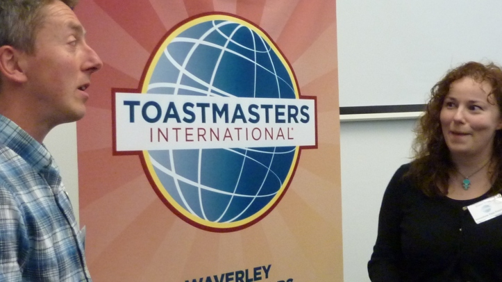 public speaking, speaking, speeches, training, Edinburgh, Toastmasters, Toastmasters International, Waverley Communicators, leadership, soft skills