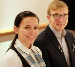 Dmitrijs and Anna-Maria - members of Waverley