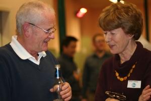 Duncan tells Aideen a joke