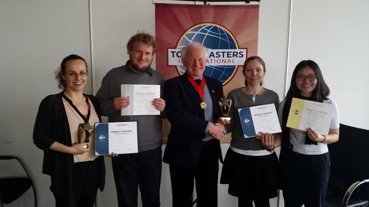Toastmasters Area 30 Contest